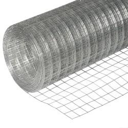 Сетка сварная из ОЦ проволоки d=1,6мм, ячейка 50х50мм, 1,5х15м
