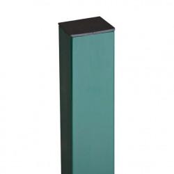Столб профильный h=2,4м, сечение 40*40мм, окрашенный