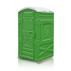Кабина туалетная EcoLight Дачник разобранная, зеленая