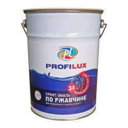 Грунт-эмаль по ржавчине 3в1 5кг Серая Профилюкс