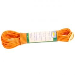 Веревка бельевая пластик 20м с фиксатором R104020