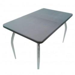 Стол раздвижной Эльба (1,1(1,47)*0,7*0,75) МДФ венге темный