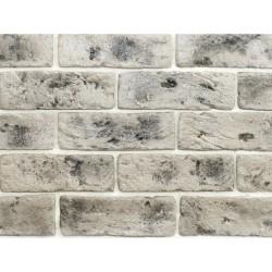 Камень интерьерный гипсовый 0221 Саман 200*65мм серый с вкраплениями (уп 0,5м2)