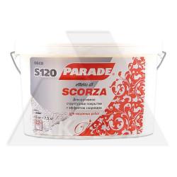 Покрытие декоративное PARADE S120 15кг с эффектом короеда