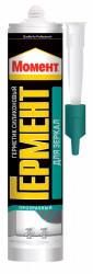 Герметик силиконовый HENKEL Момент Гермент нейтр. для зеркал, прозрачный 280мл 551606/149251