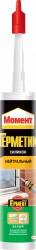 Герметик силиконовый HENKEL Момент нейтральный белый 280мл 120938