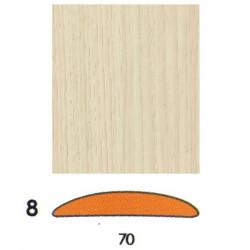 Наличник Беленый дуб плёнка
