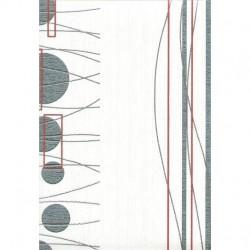 Обои 142-14 Home Color винил 0,53*10,05м геометрия, бело-черный