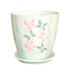 Горшок керамический БУТОН вальс 15см
