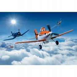 Фотообои 8-465 Komar Самолеты над облаками 368*254см бумажные
