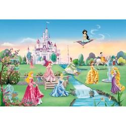 Фотообои 8-414 Komar Замок принцесс 368*254см бумажные