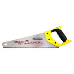 Ножовка по дереву 350мм 11TPIдля точного пиления  двухкомпонентная ручка STAYER MASTER TOOLBOX 2-150