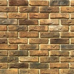 Камень искусственный декоративный Лондон брик 300-40 коричневый