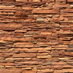 Камень искусственный декоративный Норд Ридж 270-40 коричневый