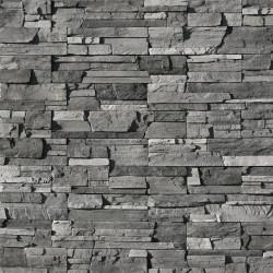 Камень искусственный декоративный Фьорд 208-80 черно-серый