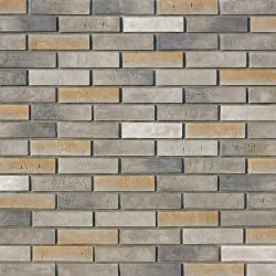 Камень искусственный декоративный Терамо брик 350-80 серый