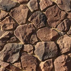 Камень искусственный декоративный Рутланд 602-90 сиреневый