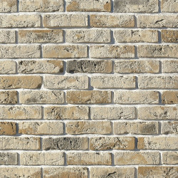 Камень искусственный декоративный Лондон брик 304-10 молочный