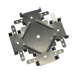 Соединитель одноуровневый для ПП-60*27 (краб) 0,9мм