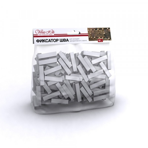Фото - фиксатор шва универсальный white hills, 10 мм, 250 шт затирка для камня и плитки цементная white hills белая крупнозернистая ведро 4 5 кг