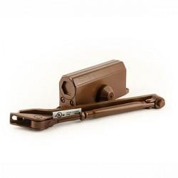 Доводчик дверной NORA-M №2S морозостойкий коричневый до 50кг