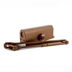 Доводчик дверной NORA-M №4S морозостойкий коричневый до 120кг