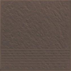 Ступень Simple brown 3-d 30*30