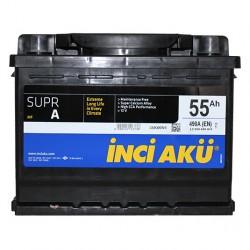 Аккумулятор Inci SuprA 55 (8251) 490Ah о.п. L2 055 049 013