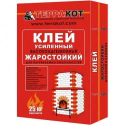 Клей термостойкий усиленный ТЕРРАКОТ, 25 кг