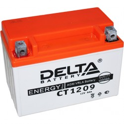 Аккумулятор Mото DELTA  CT 1209 СТ 1209