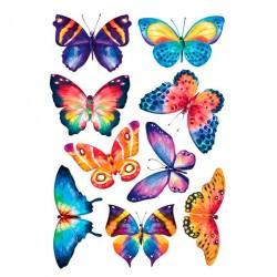 Декоретто Акварельные бабочки АI 1006