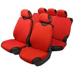 Чехлы автомобильные на сиденье МАЙКА передние красные 2шт с подг. SPRINT