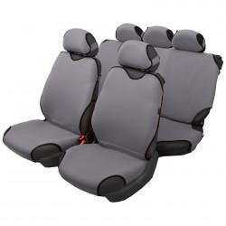 Чехлы автомобильные на сиденье МАЙКА передние серебро 2шт с подг. SPRINT