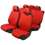 Чехлы автомобильные на сиденье МАЙКА передние+задние красные с подг. SPRINT
