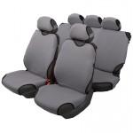 Чехлы автомобильные на сиденье МАЙКА передние+задние серебро с подг. SPRINT