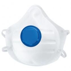Маска для защиты от пыли 1шт с клапаном класс защиты FFP1 СИБРТЕХ 89250