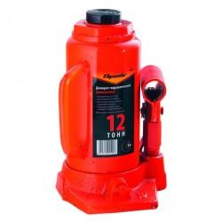 Домкрат гидравлический бутылочный 12т h210-400мм SPARTA 50326