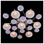 Светильник Галоген 5605/7 хром/синий+красный+фиолетовый G4 7*20Вт