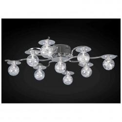 Люстра Геометрия 1-6389-9-CR-LED Y G4 9*20Вт